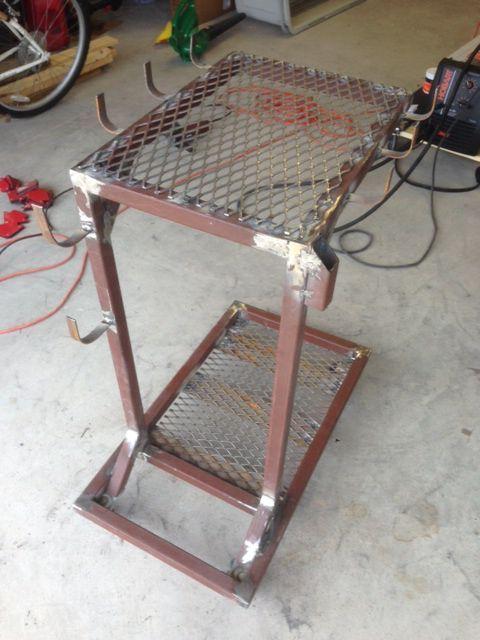 DIY Welding Cart: