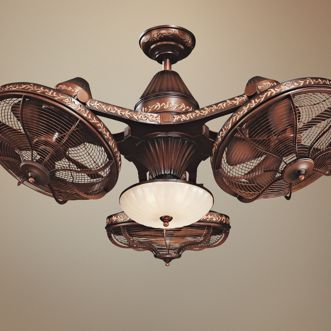 38 esquire rich bronze finish 3 head ceiling fan ceiling fan 38 esquire rich bronze finish 3 head ceiling fan mozeypictures Image collections