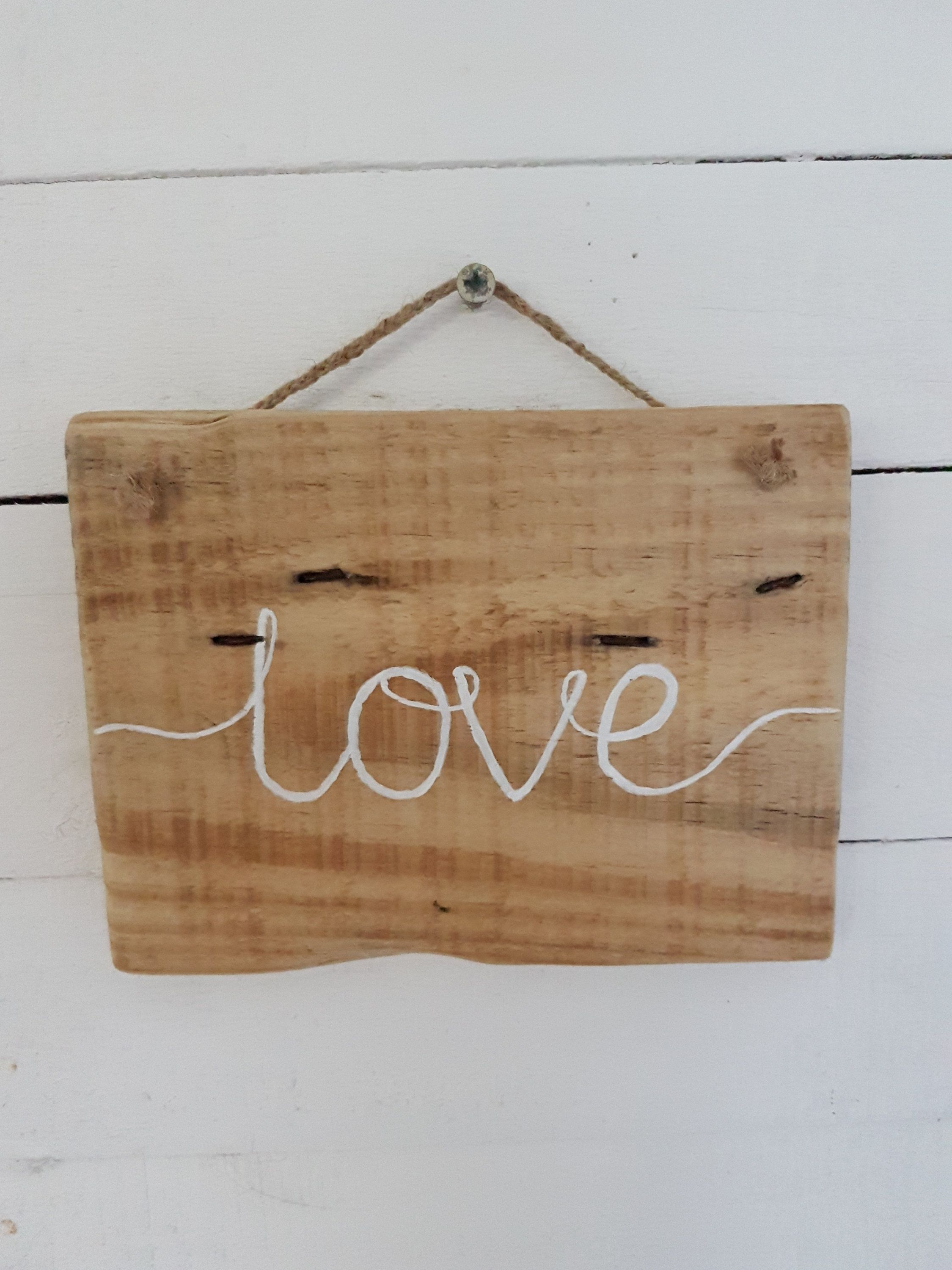 Wooden Love Sign Pallet Wood Creations Pinterest Love Signs