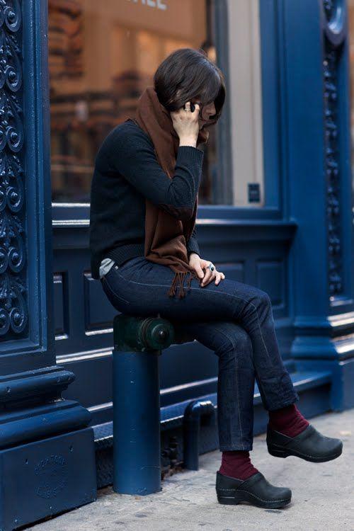 comprare on line 821f0 74c9e sanitas clogs | Clogs outfit, Sartorialist, Style