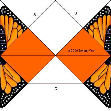 Monarch Butterfly Origami Butterfly Arts And Crafts For