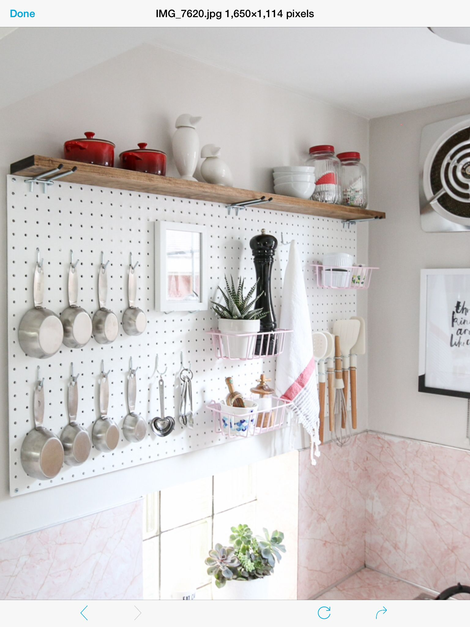 kitchen pegboard can lights in creative ideas from lowes peg boards pinterest home organisation organization hacks storage