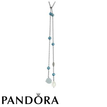 Pandora Vintage Teal Necklace