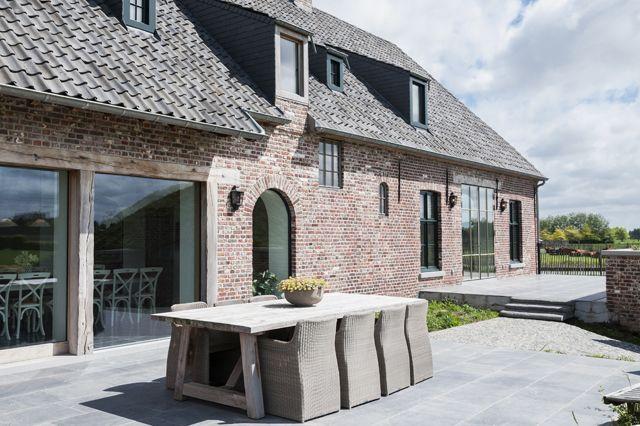Verbouwing boerderij home pinterest buitenkant huis for Tuin verbouwen