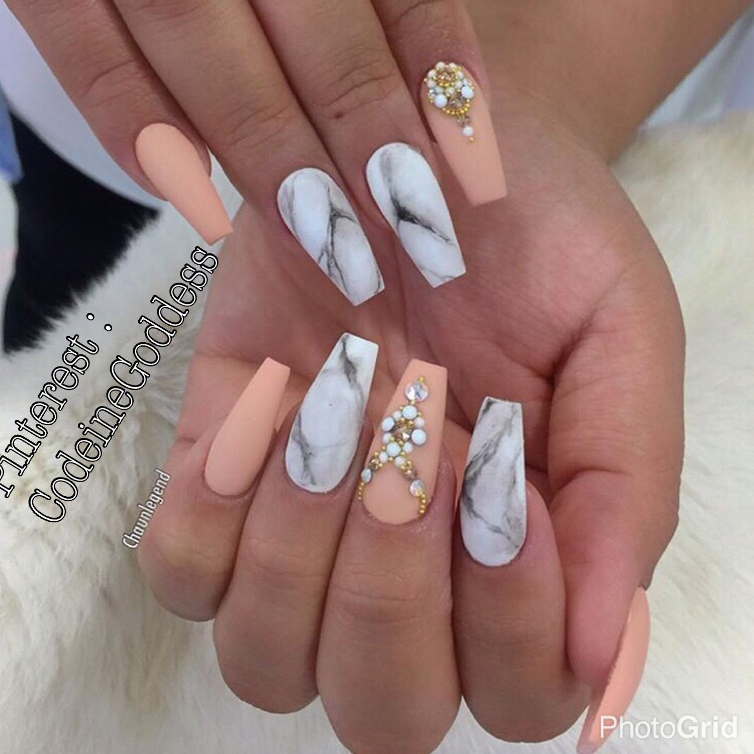 Pin by CodeineGoddess✨ on Cut It ✨   Pinterest   Marble nails
