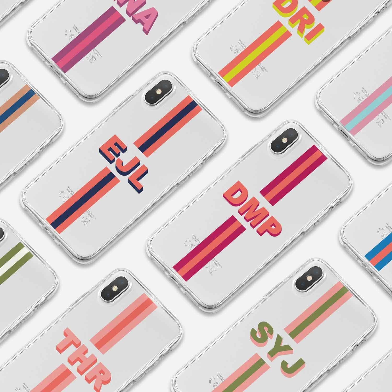 Initial Phone Case Iphone 12, Custom Monogram Phon