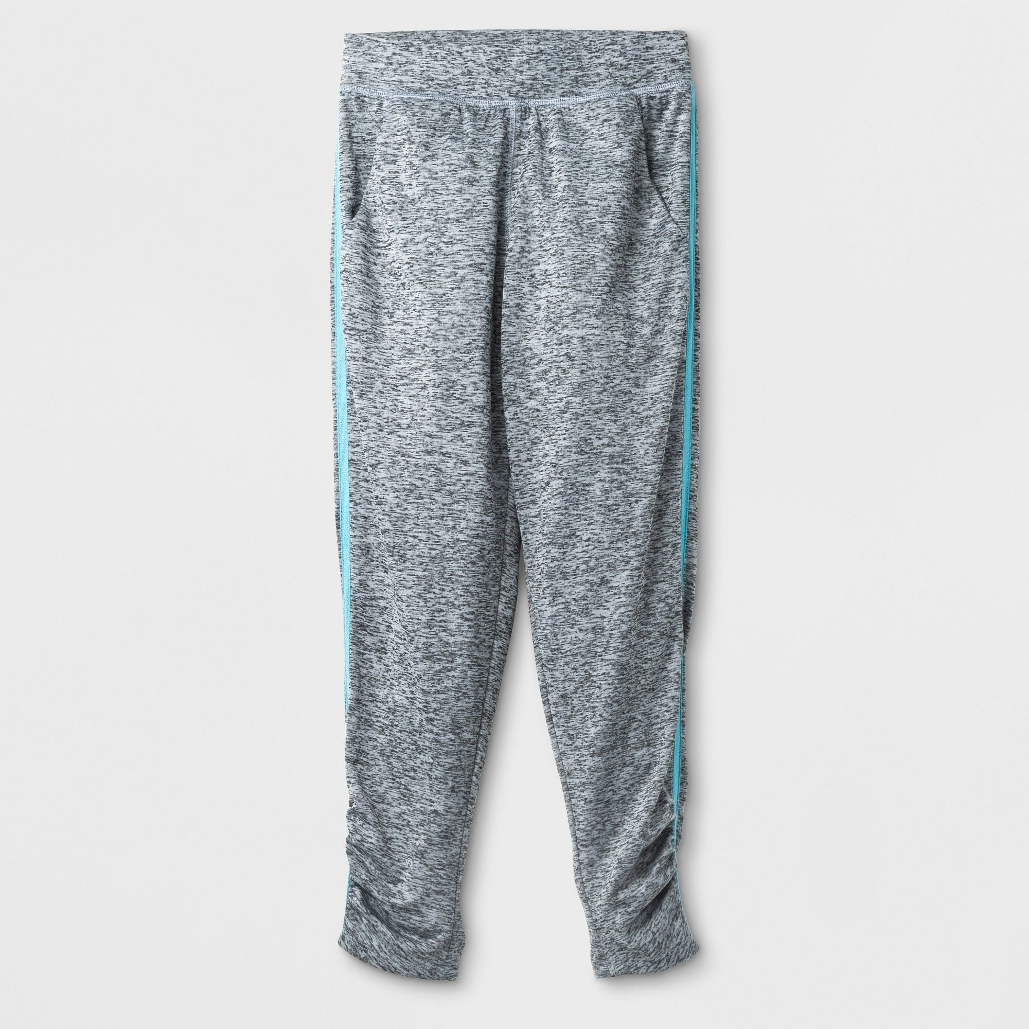 9bb0cffd9d39 Girls  Ruched Active Pants - C9 Champion Gray XL