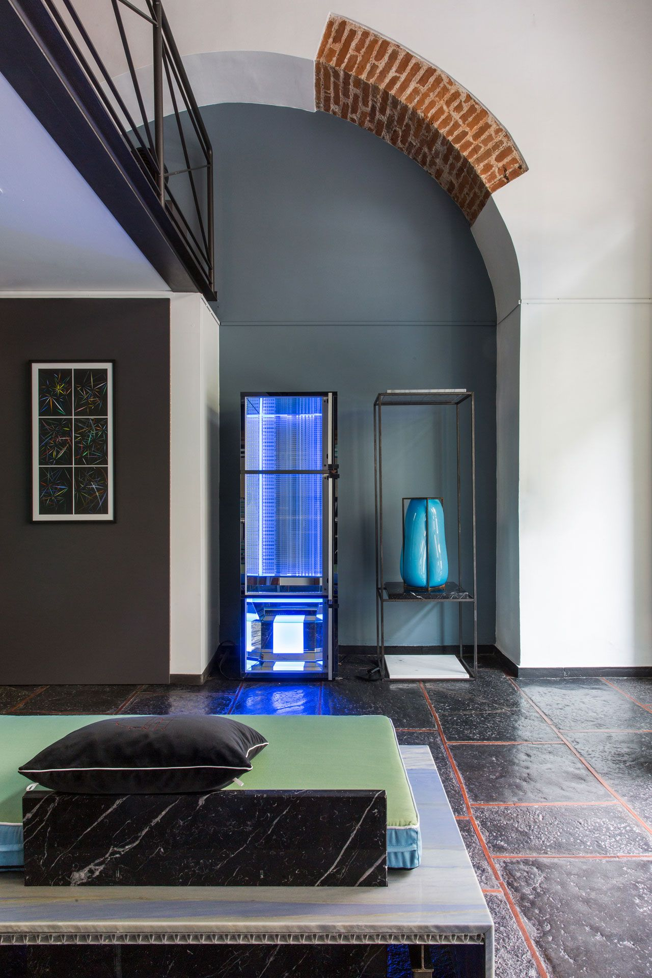 Artist riccardo beretta and architect designer marco parmeggiani joined forces for  group show at luca preti design storico on via san also best of milan week architecture  interior rh pinterest