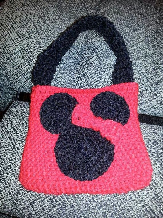 Minnie Mouse Crochet Purse by BamaBeautyBoutique on Etsy, $15.00 ...