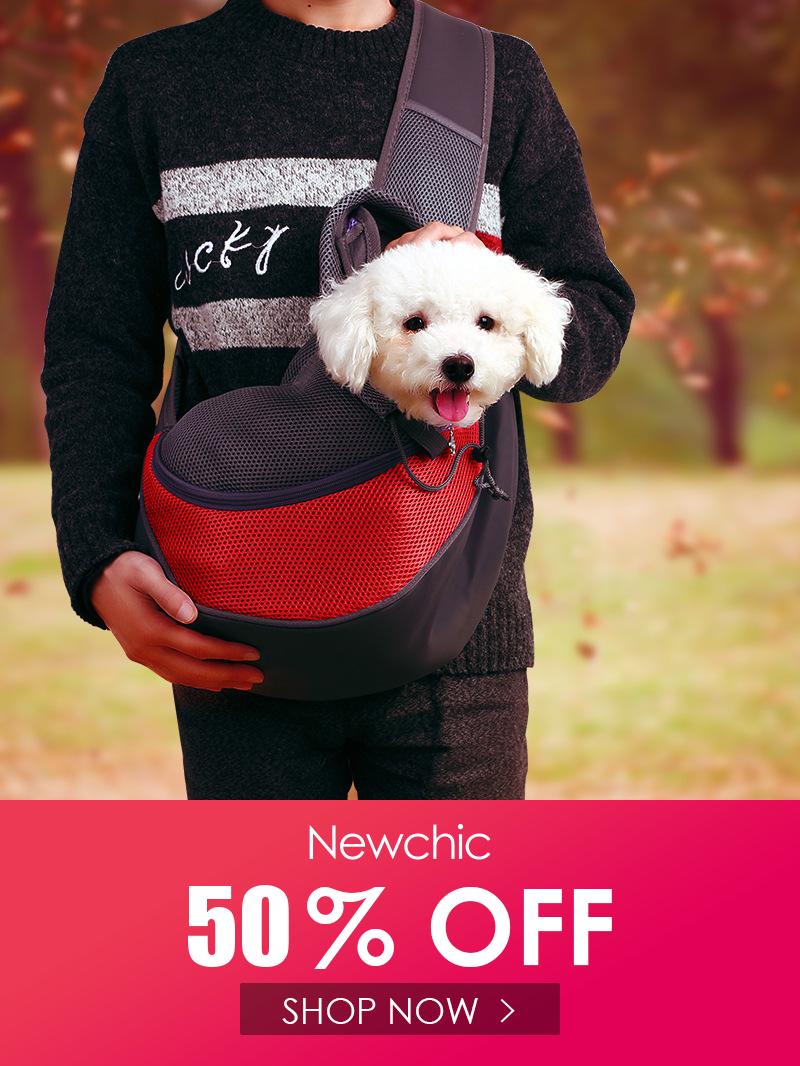Pet Cat Dog Travel Portable Slung Shoulder Bag Breathable Mesh Pet Backpack In 2020 Pet Backpack Dog Travel Pet Bag