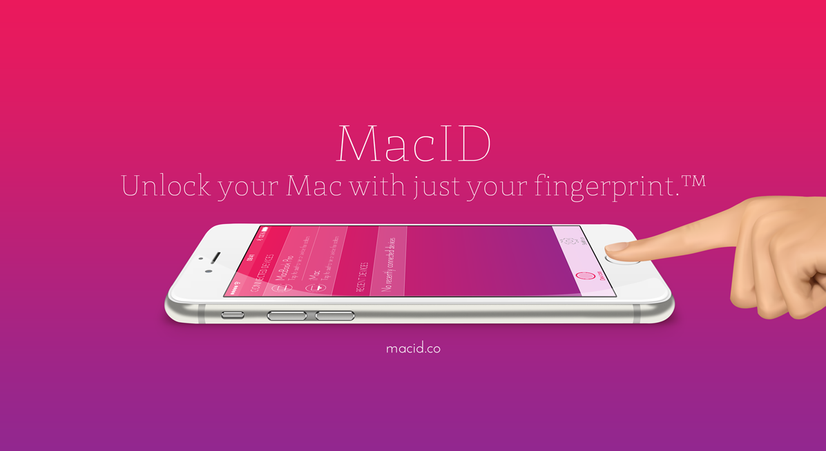 Unlock your Mac with TouchID with MacID Software apps