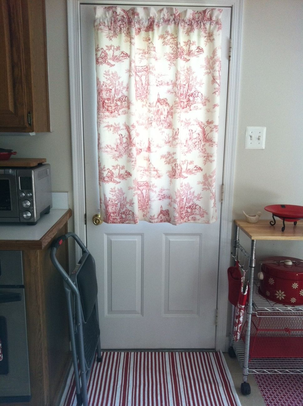 Kitchen Door Curtains Kitchen Door Curtain My Craft Projects In 2019 Door Curtains