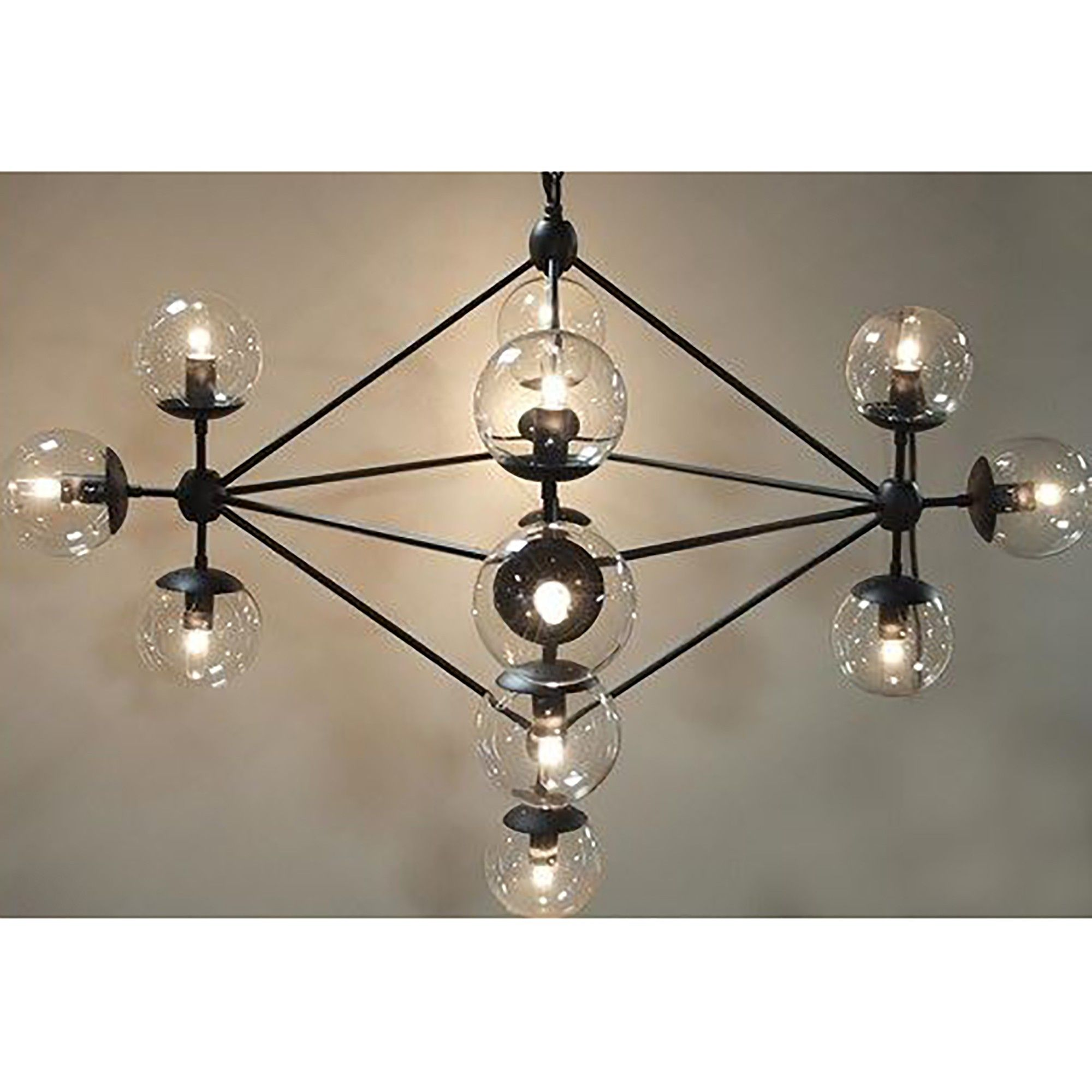 Particles Chandelier Small Chandelier Small Small Chandelier Modern Linear Chandelier