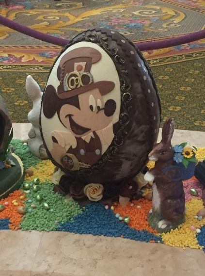 Look+at+These+Intricate+Disney+Easter+Eggs+on+Display+at+the+Grand+Floridian+Hotel!