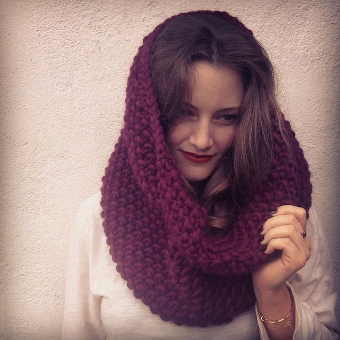 DIY Giftables #1: 2 simple snoods - a free knitting pattern | Knit ...