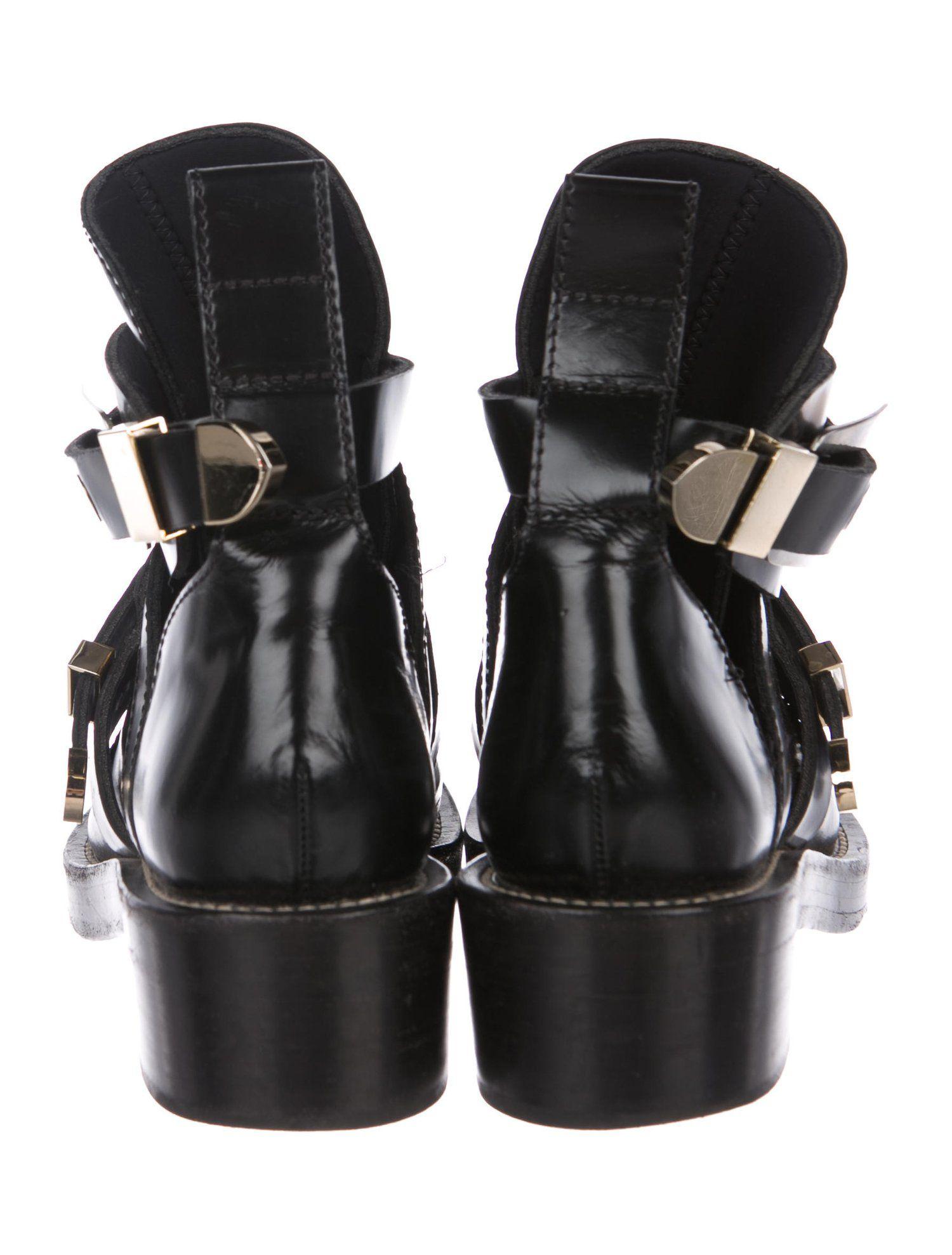 325e42f81130 Balenciaga Ceinture Leather Boots  Ceinture  Balenciaga  Boots ...
