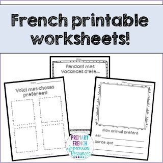 french back to school resources primary french immersion resources first day of school. Black Bedroom Furniture Sets. Home Design Ideas