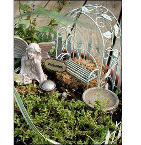 Fairy Garden Kit @ National Home Gardening Club