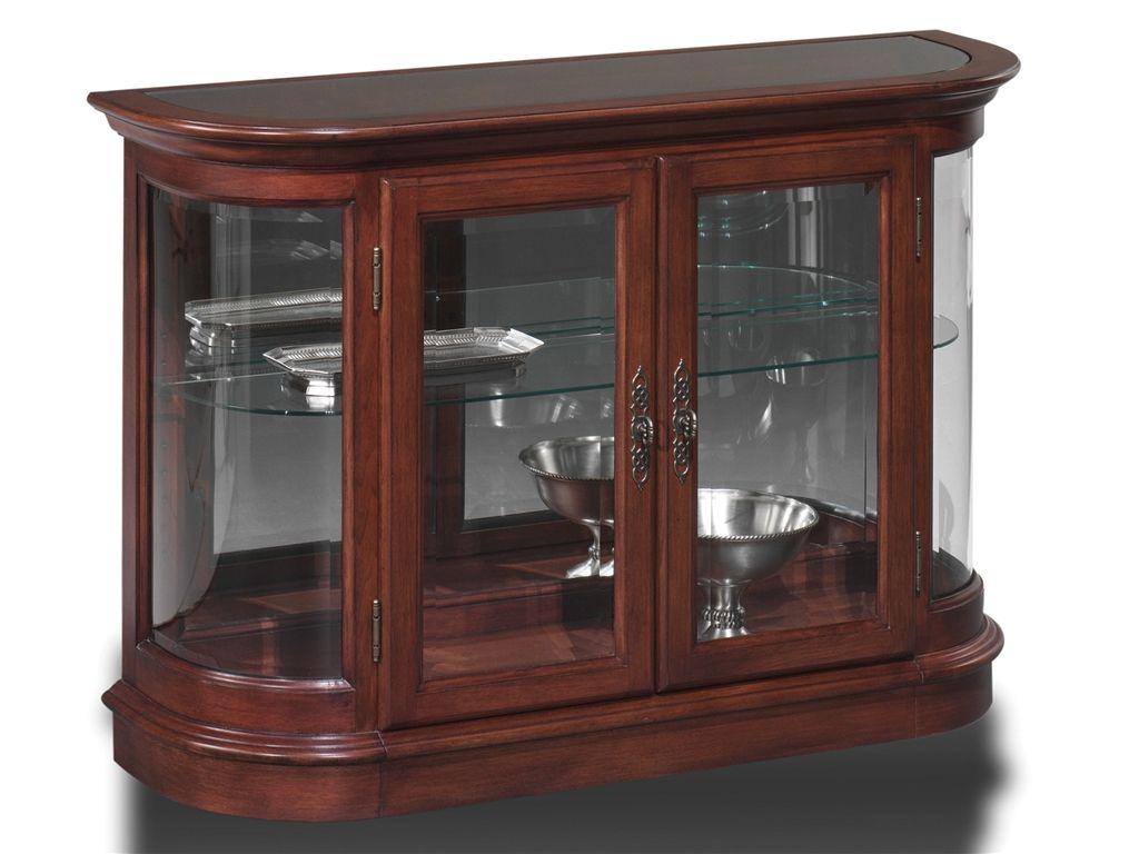 Jasper Cabinet Living Room Curio Console P605-00 - Maynard\'s Home ...