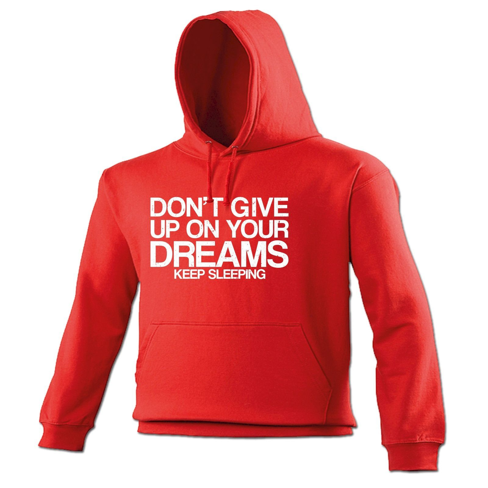 123t USA Don't Give Up On Your Dreams Keep Sleeping Funny Hoodie