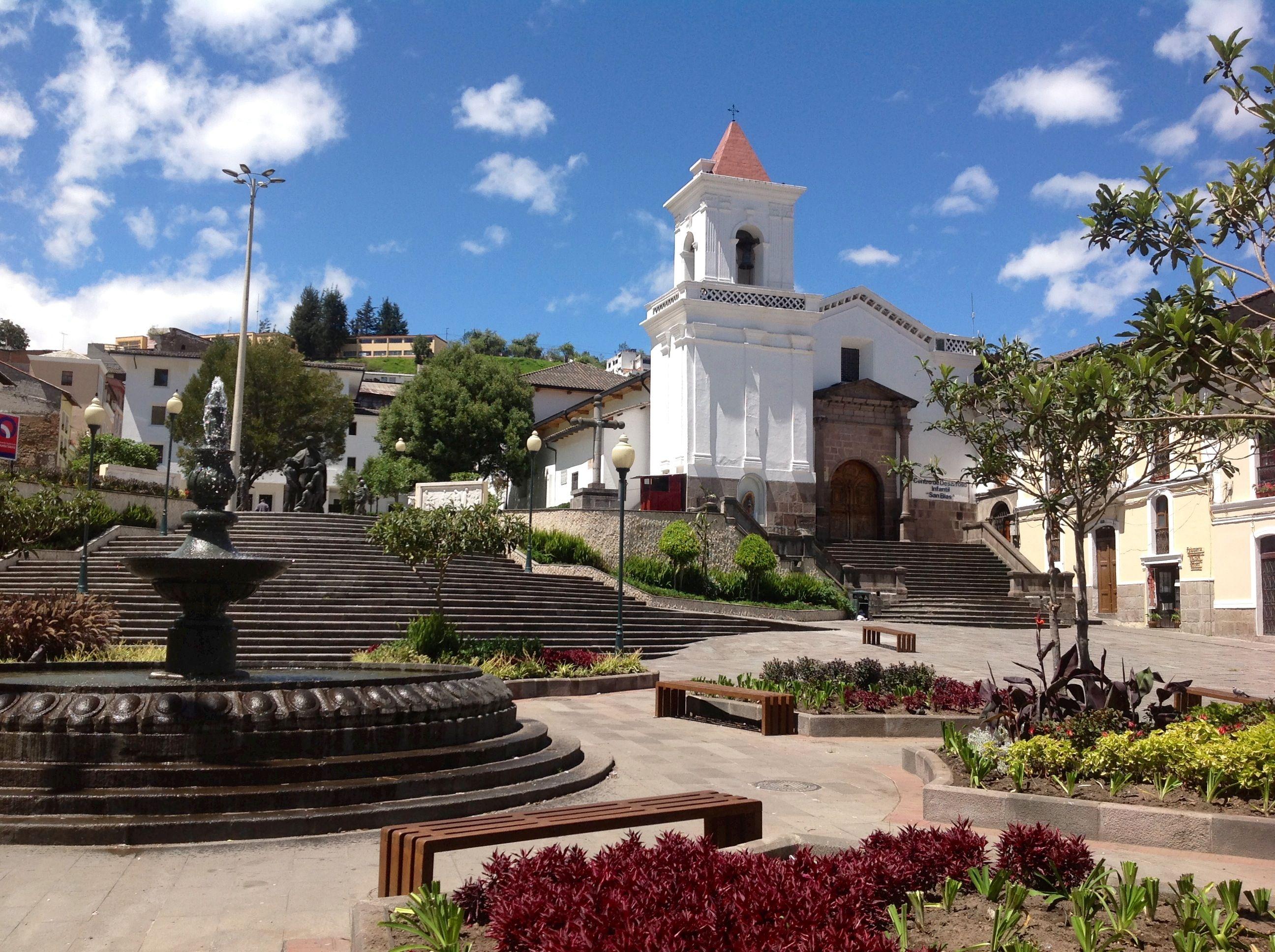 Plaza e Iglesia de San Blas. | House styles, Mansions, House