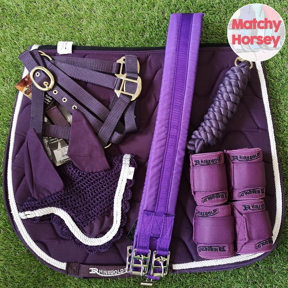Rhinegold Plum Matching Set Matchy Horsey Equestrian Style Equestrian Outfits Equestrian Helmet