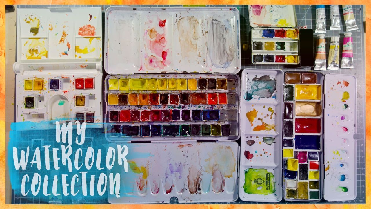 What S Inside My Watercolor Palette Collection Watercolor