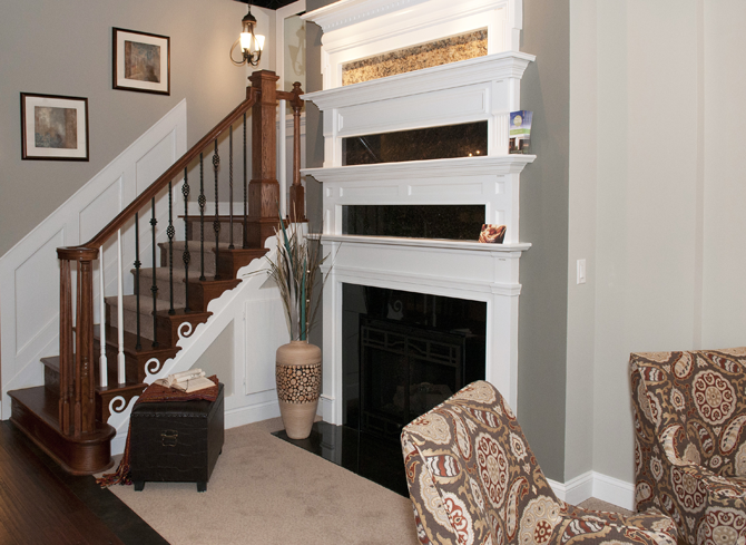 The Basics - Paint Colors, Fireplace Style Trim and ...