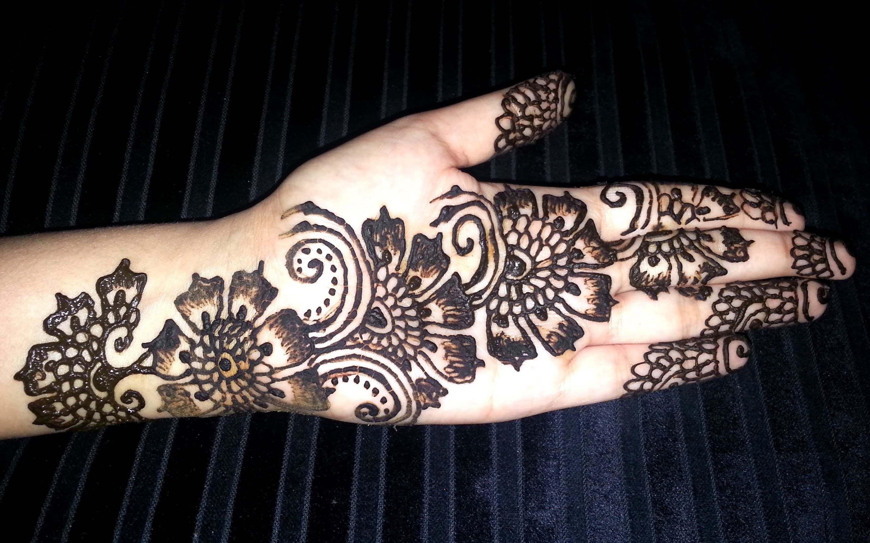 Mehndi For Girls : Arabic mehndi design for eid 2016 just girls clothing henna