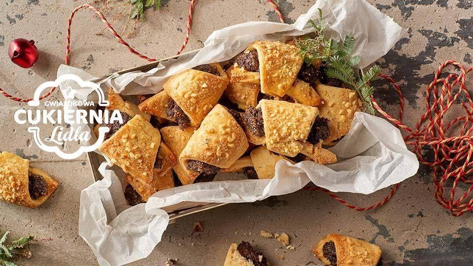 Rogaliki Z Makiem Przepis Recipe Food Christmas Food Snacks