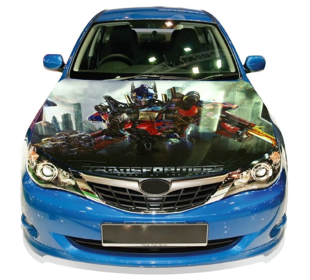DIY JDM USDM HellaFlush Bomb Sticker Hood Wrap Full Color Print - How to make vinyl decals for cars