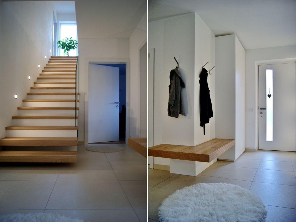 Vorzimmer von krumhuber.design material weiss matt eiche sanremo ...