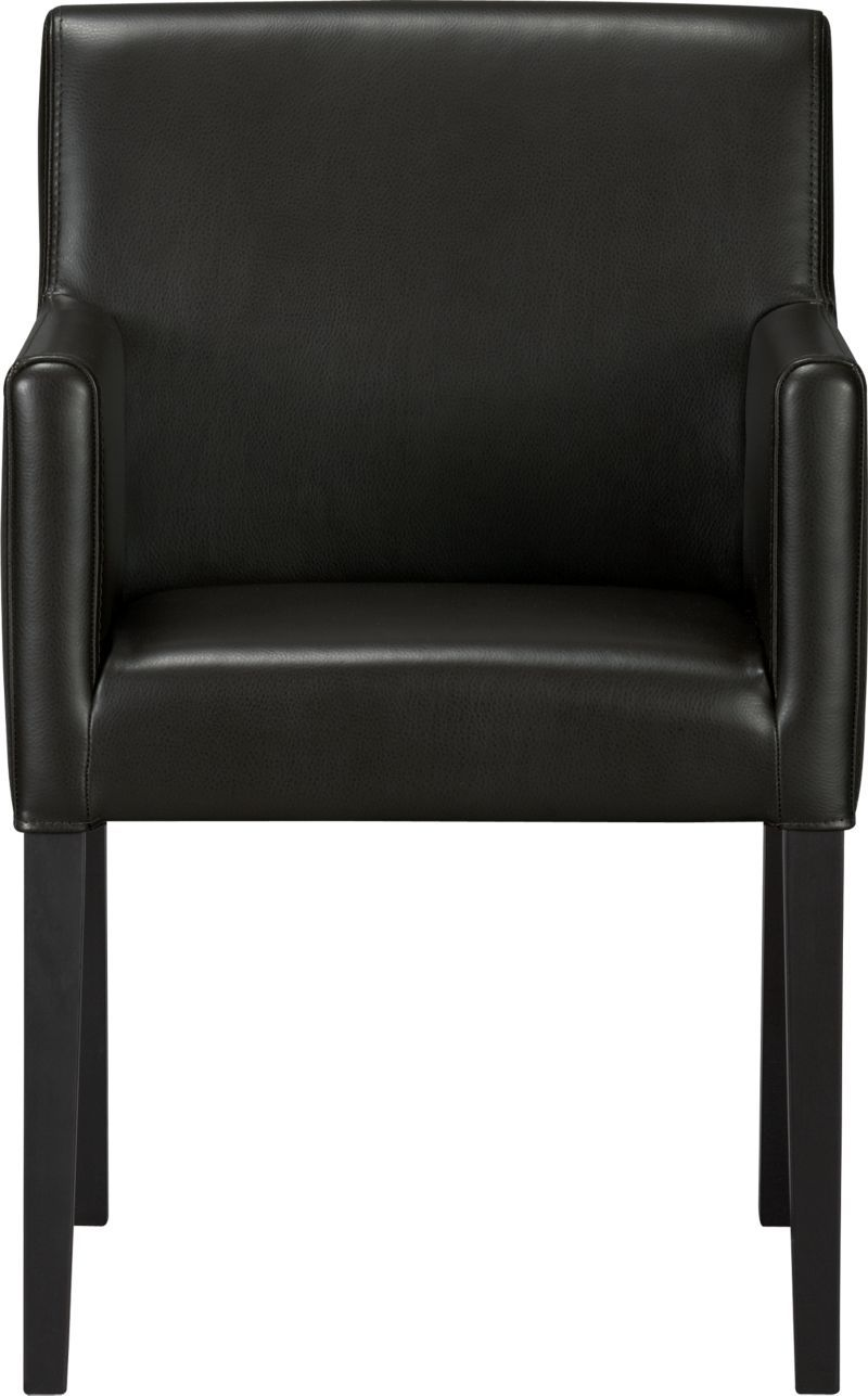Lowe Onyx Leather Dining Arm Chair In 2019 Sa Office