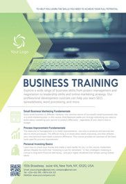 Business Training  Flyer Psd Template  Facebook Cover  Art