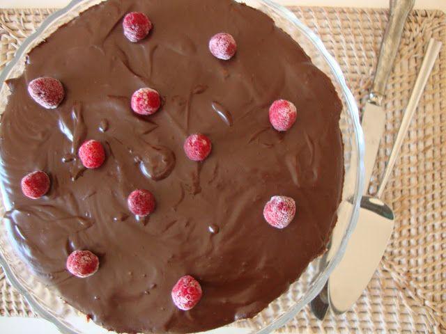 As Minhas Receitas: Tarte de Chocolate com Framboesas