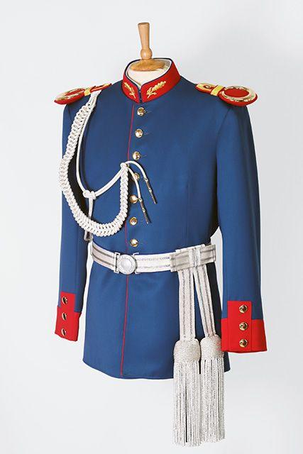 Blauer #Waffenrock für Schützen. Das passende Zubehör und ...