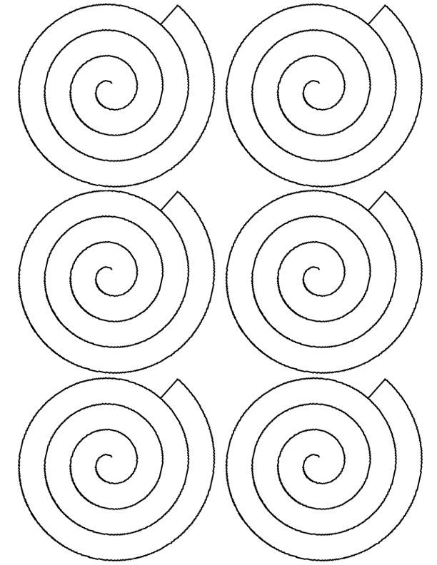 flower spiral paper rose template cricut pinterest paper