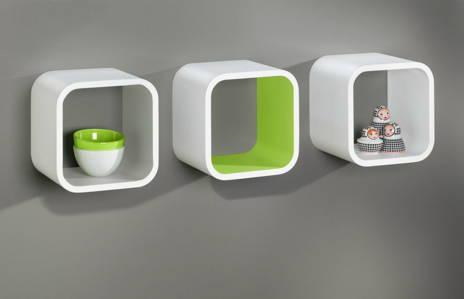 Softcube floating shelf