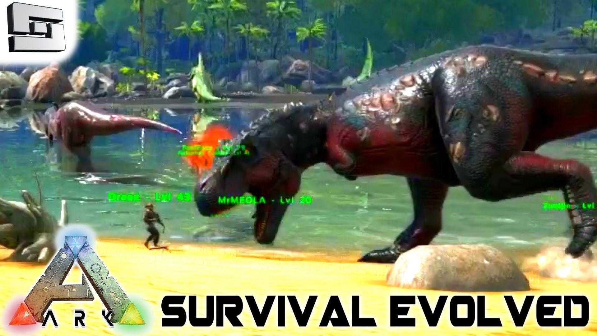 Ark Survival Evolved New Trex Inevitability S2e3 Gameplay Ark Survival Evolved Survival Ark