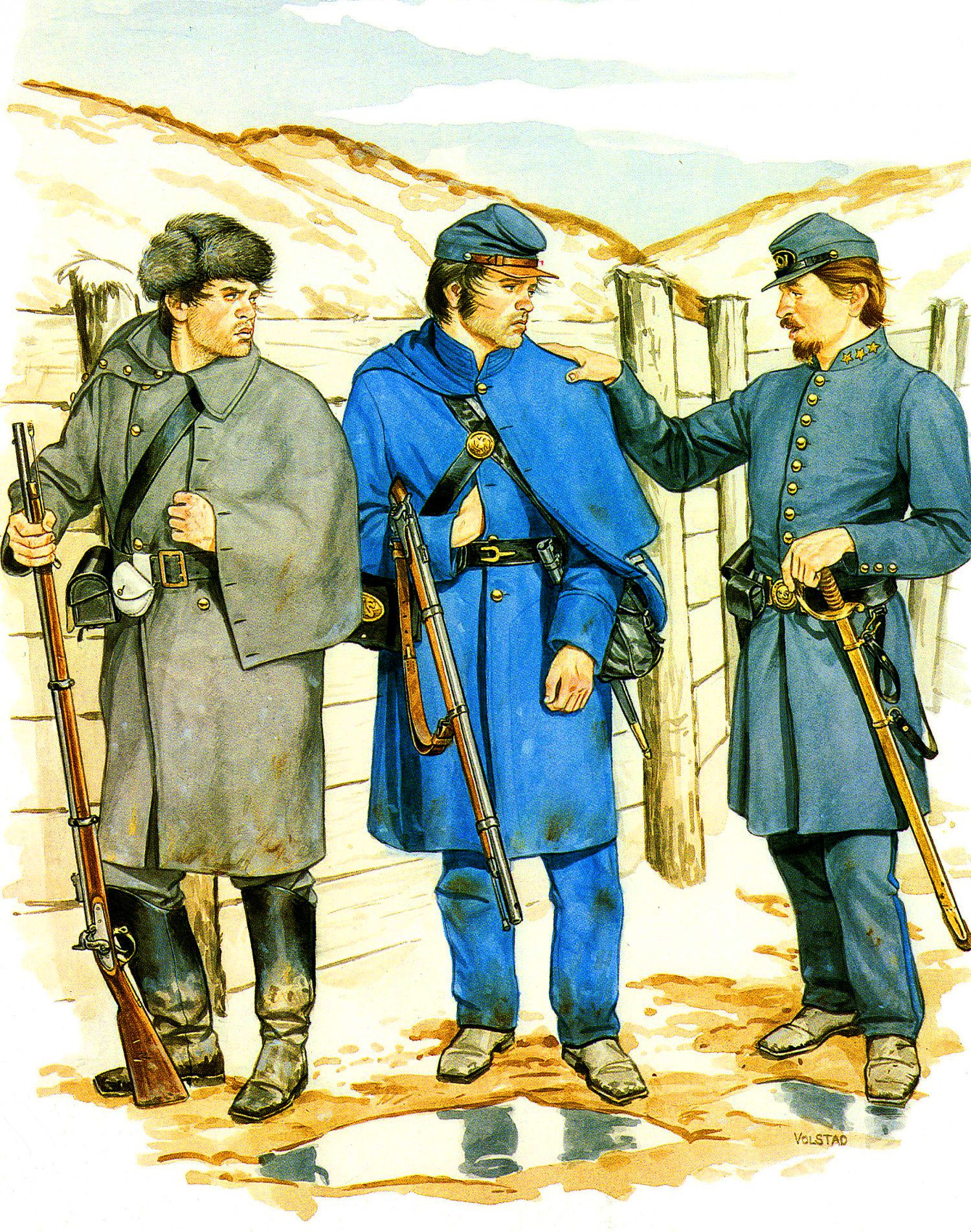 44th Georgia Infantry Regiment During The American Civil
