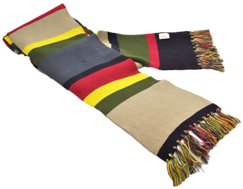 Doctor Who: Fourth Doctor 12 ft. Scarf MUST BUY....