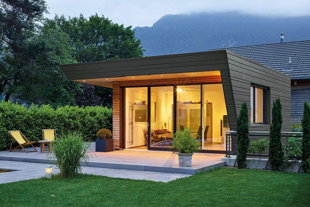 haus bauen modern holz. Black Bedroom Furniture Sets. Home Design Ideas