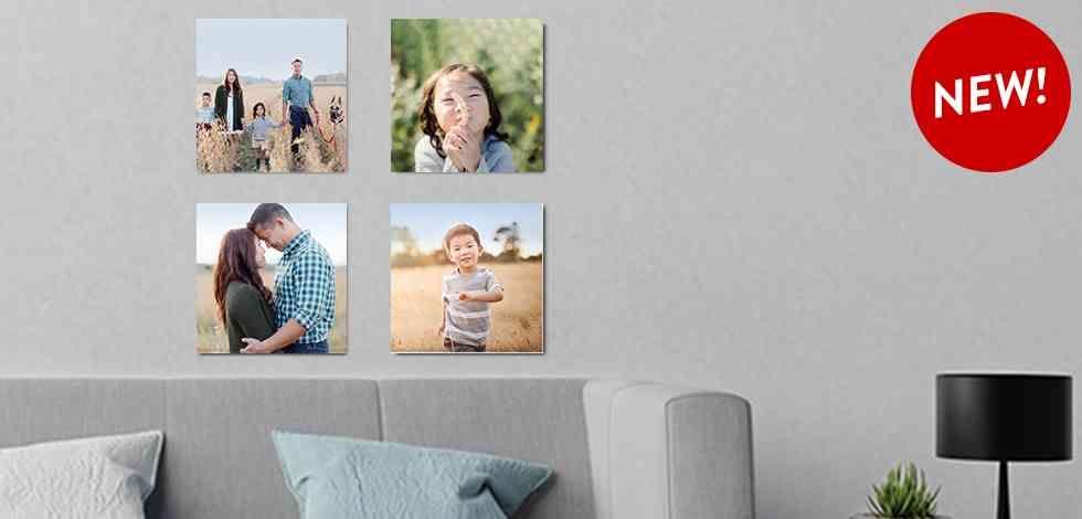 Photo Tile 8x8 Photo Tile Home Decor Snapfish Us Photo Tiles Photo Panel Customized Photo Gifts
