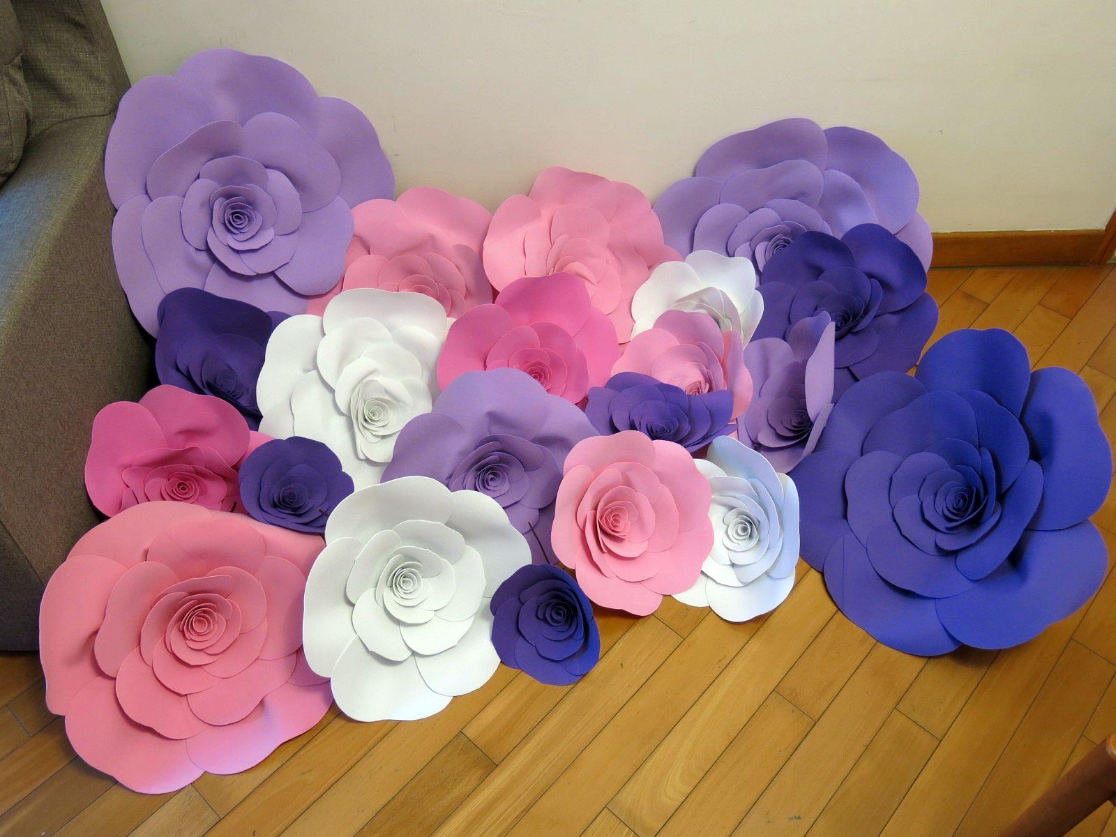 5pcs 50cm custom made foam paper flower wedding photo party backdrop 5pcs 50cm custom made foam paper flower wedding photo party backdrop decoration ebay mightylinksfo