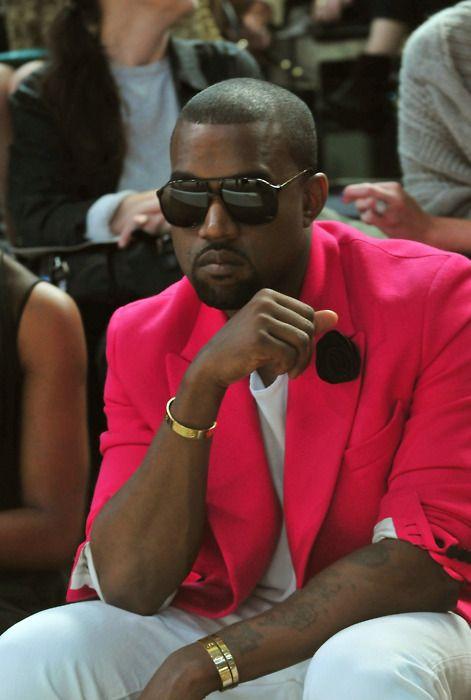 Bright Lights, Big City / Kanye West, New York Fashion Week (2010)