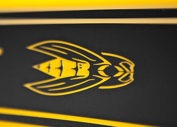 Dodge Challenger Srt8 392 Yellow Jacket Emblem American Muscle
