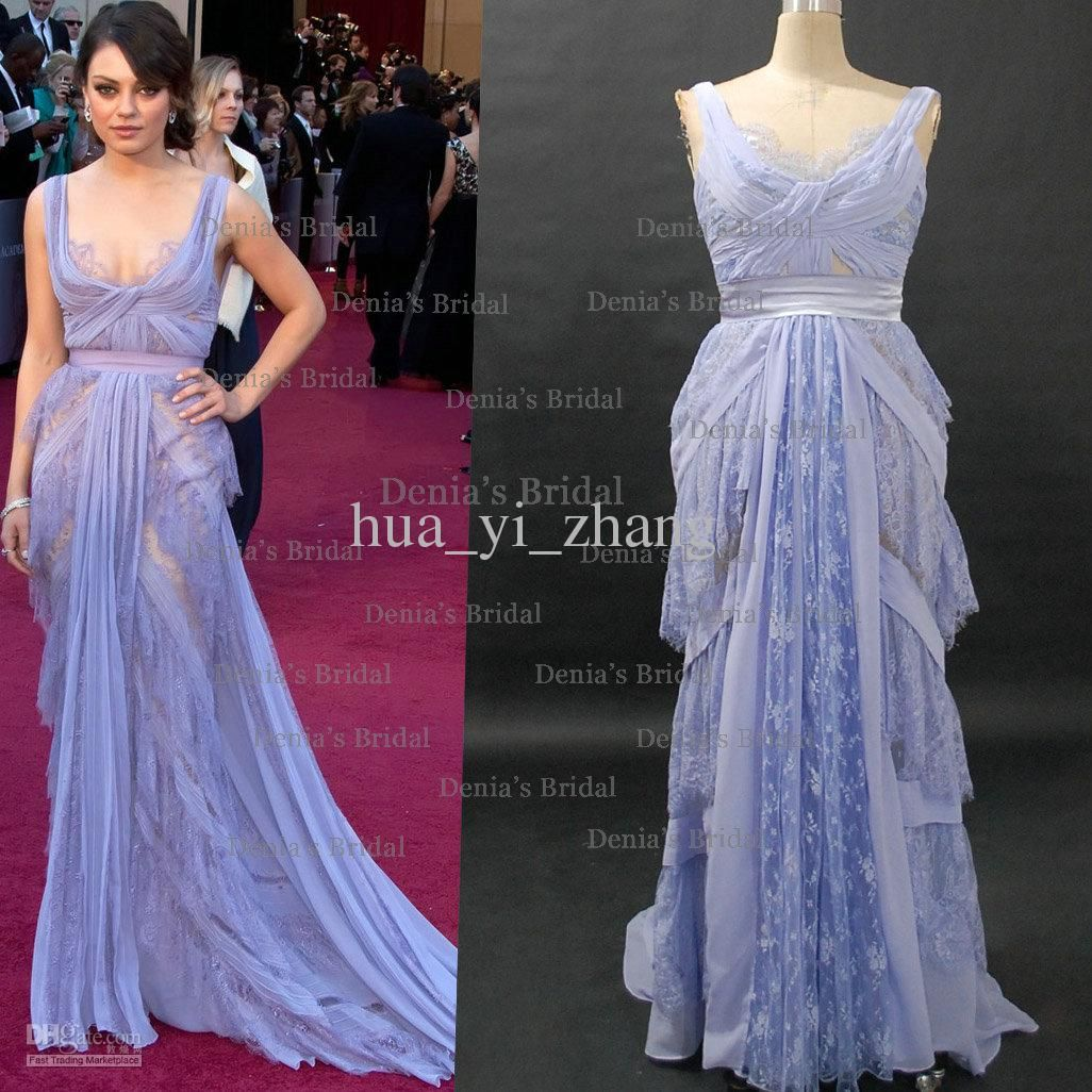 Mila Kunis Celebrity Dresses 83rd Oscar Awards Red Carpet Dress ...
