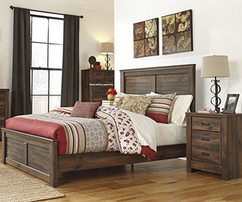 Quindenny Casual Replicated Oak Grain Dark Brown Color Be