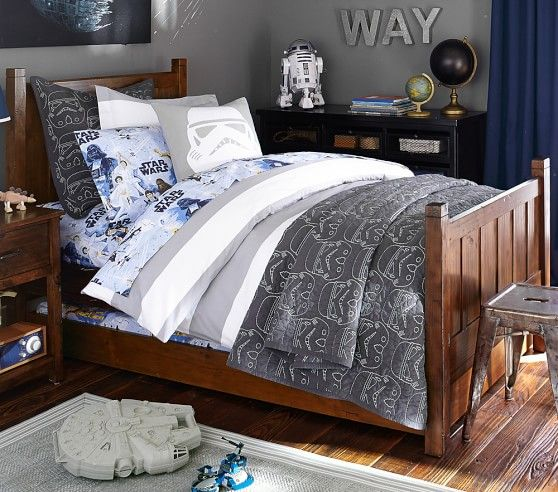 Camp Bed in 2019 | Boy Cave | Pottery barn bedrooms, Grey boys rooms ...
