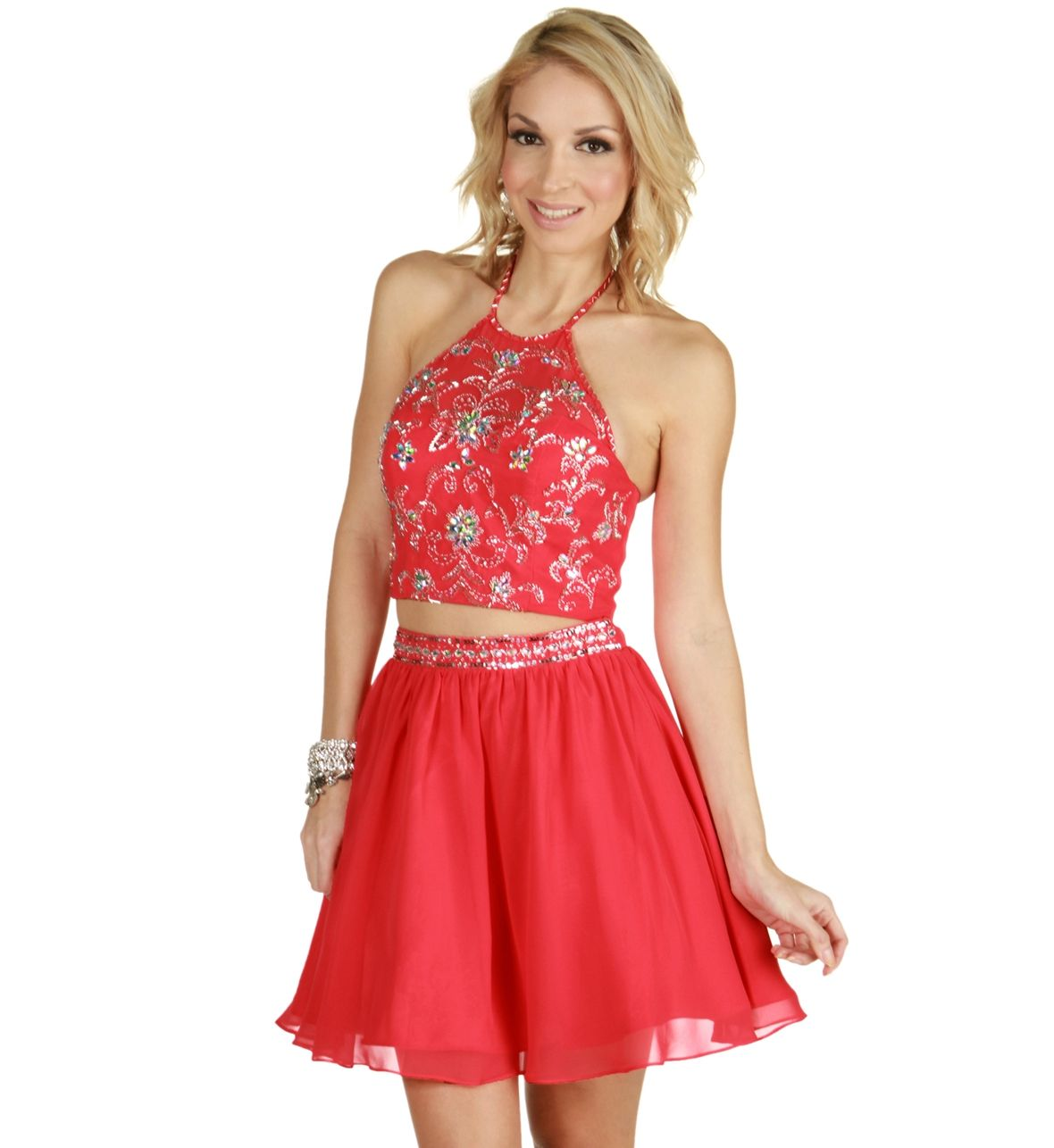 Vanni- Coral Homecoming Dress | Special Occasion Fashion ...